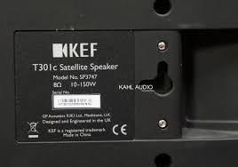 kef 301c. $150 original price: $400 kef 301c