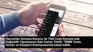 Hayvanları Koruma Kanunu ile Türk Ceza Kanunu'nda Değişiklik Yapılmasına  Dair Kanun Teklifi, TBMM Tarım, Orman ve Köyişleri Komisyonunda kabul  edildi. - Son Dakika