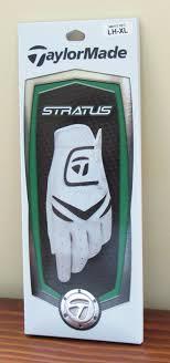 Mens 1 Taylormade Tm Stratus Left Hand Golf Glove Size Xl