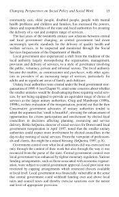 social policy for social work  policy for social work 28 community