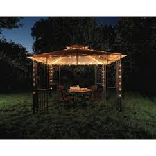 curtain cool outdoor gazebo chandelier lighting 12 ideas icicle solar string lights water drop fairy nice