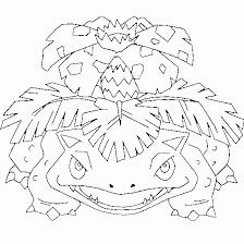Venusaurfreepokemoncoloringpage Coloring Skin Care Pokemon