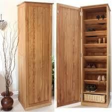 conran solid oak furniture tall shoe cupboard