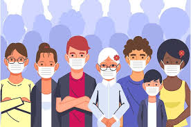 Download 85 gambar animasi orang pakai masker terbaru gambar animasi. 3 Mitos Pakai Masker Selama Pandemi Covid 19 Segera Tinggalkan Mitos Mitos Ini Semua Halaman Bobo