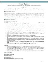 Construction Operation Manager Resume Construction Manager Resume Template Change Management