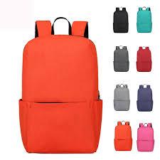 Light Waterproof Backpack Outdoor Sports Light Weight Waterproof Backpack Travel Hiking Bag Zipper Adjustable Belt Camping Knapsack Men Women Child N
