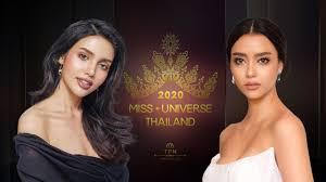Veena Praveenar VS Amanda Obdam - MISS UNIVERSE THAILAND 2020 - YouTube