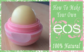 diy eos lip balm 100 natural ings the perfect dome shape you
