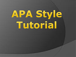 Apa Style Tutorial Ppt Download