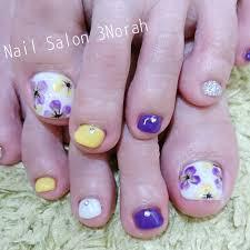 春のフットネイル Nail Salon 3norah