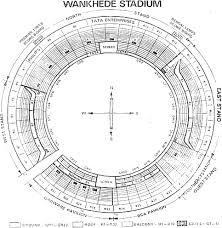 Wankhede Seating Chart Wankhede Stadium Photo Global Espncricinfo Com