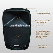 speakers 12. 12 inch dj box outdoor speaker with wireless mic loud portable speakers