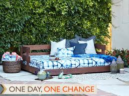 create a lounge worthy daybed