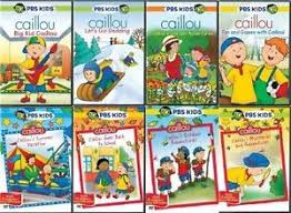 image is loading caillou dvd set pbs kids lot series tv