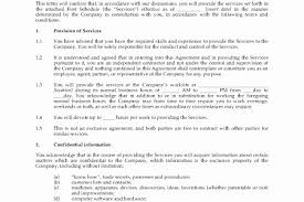 Independent Contractor Agreement Template Simple Simple Independent Contractor Agreement Template Awesome Independent
