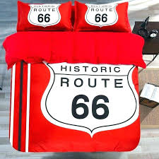 bulls comforter bedding set historic route red white queen chicago twin sidelines bed