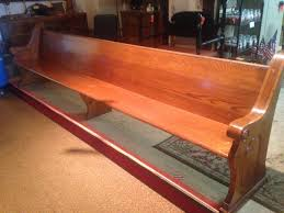 we have 22 vintage oak church pews for they are out of the trinity chapel shepherd of the hills lutheran church in mildred pa