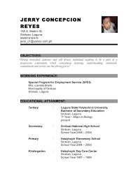 ... sample resume for fresh graduate pharmacist ...