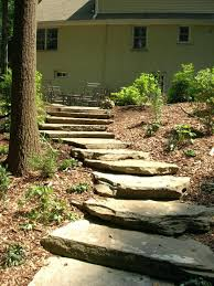 ... Step Stone Walkway Landscaping Portfolio Gallery Home Improvement  Stepping Stone Path Designs ...
