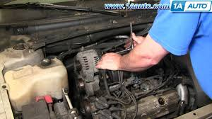 how to install repair replace alternator buick lesabre l  how to install repair replace alternator buick lesabre 3 8l 00 05 1aauto com