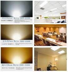 ceiling led downlight 2x2 36w 600x600 led panel ceiling grid recessed slim panel light office white