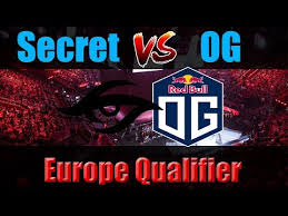 dota 2 live team secret vs og europe qualifier best of 3