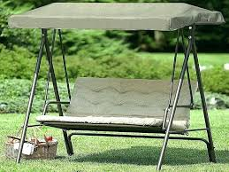 3 person patio swing with canopy n cushion daybed gazebo