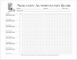 Medication Chart Template Free Download Inspirational Free Printable Chart For Tracking Medicines