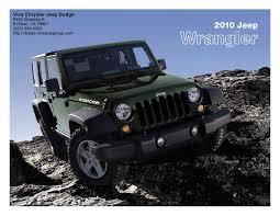 2010 Jeep Wrangler Viva Chrysler Jeep Dodge El Paso Tx