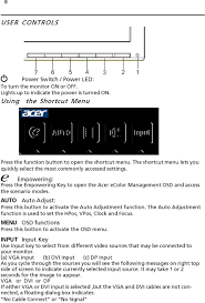 Acer Lcd Monitor Users Guide Pdf Free Download