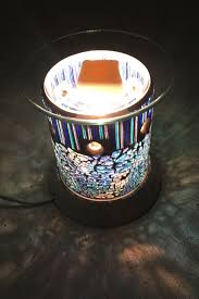Mosaic Electric Plug In Scented Wax Melt Light Lamp Burner Warmer Gift