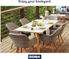 rona weekly flyer enjoy your backyard mar 22 apr 25 redflagdeals com