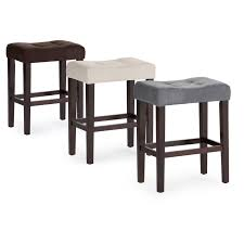 palazzo  inch saddle counter stool  brown  hayneedle
