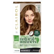 Natural Instincts Light Golden Red Clairol Natural Instincts Non Permanent Hair Color 4rv