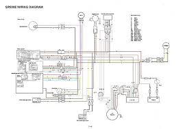 yamaha sr xt tt simple wiring diagrams flickr