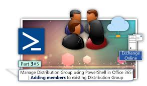 Online Group Manage Distribution Group Using Powershell In Office 365
