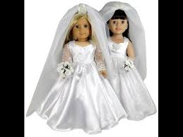 American Girl Clothes Patterns Simple American Girl Doll Clothes Patterns Wedding Dress YouTube