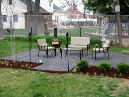 How To Install Larger Paver Patio Over Existing Smaller Concrete How To Install Pavers In Backyard