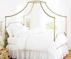 A Gold Canopy Bed That's Surprisingly Affordable | MyDomaine