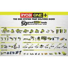 Ryobi Battery Comparison Chart Ryobi P105 One 18 Volt High Capacity Lithium Ion Battery