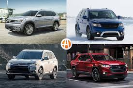 8 most affordable new 3 row suvs for