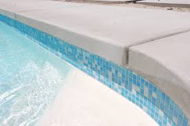 mid century pool re tiled modern pool