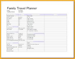 Trip Itinerary Builder Trip Planner Template Excel Wsopfreechips Co