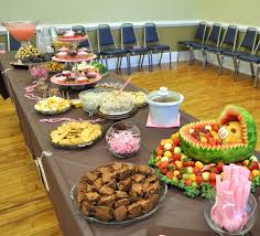 Baby Shower Ideas On A Budget For Food  Baby Shower Ideas GalleryWhat To Serve At Baby Shower