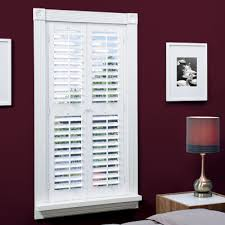 plantation shutters. Simple Shutters JCPenney Home FauxWood Plantation Shutters With MidRail  2 Panels For E