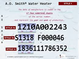A O Smith Water Heater Age Building Intelligence Center