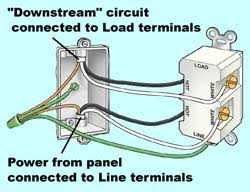 wiring outlet to gfci wiring diagram schematics info gfci wiring schematic nilza net