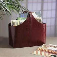 Faux Leather Magazine Holder Hipce HMC100 Faux Leather Magazine Holder Gifts For Her 25
