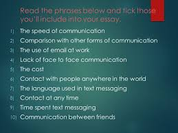 writing c ppt video online   the phrases below and tick those you ll include into your essay