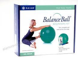 Gaiam Balance Ball Beginner Kit Medium Green 1uittbln